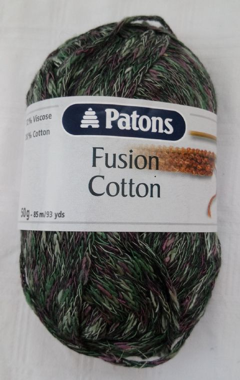 Patons Fusion Cotton Yarn 50g